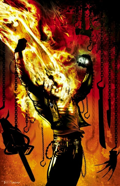 GHOST RIDER by •Tim Kelly
