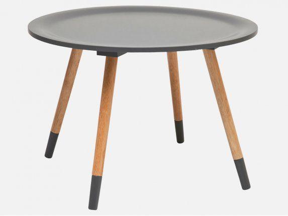 stoliki kawowe szare w stylu skandynawskim