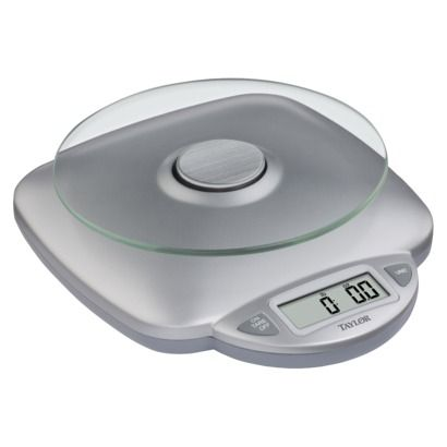 "Taylor Digital Food Scale - buying this tomorrow for the new diet my trainer gave me to ""shred"" for two weeks!"