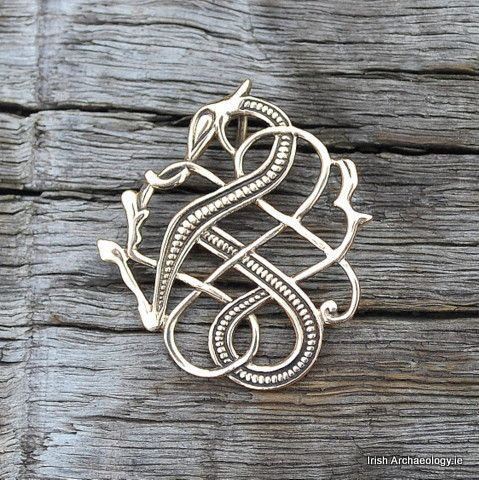 This distinctive Urnes-style dragon pendant is inspired by an 11th century artefact from Iceland.