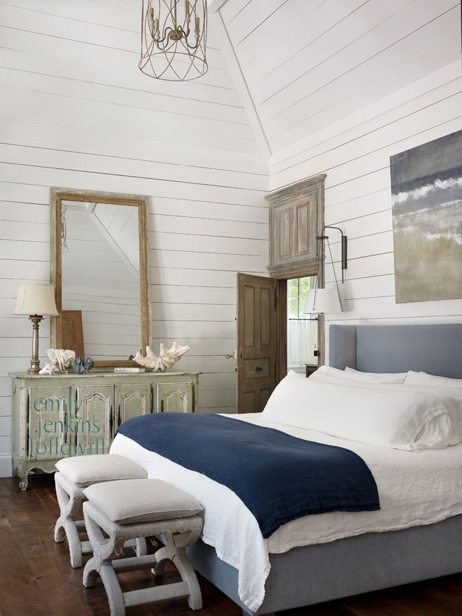 cottage bedroom paint colors this master bedroom in a coastal cottage in watercolor 15026