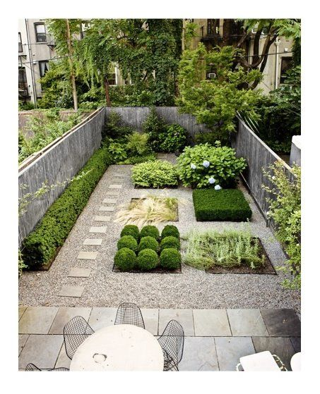 A lovely urban garden. Could be adapted for the front garden