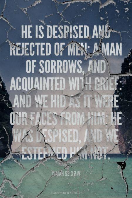 Isaiah 53 lyrics
