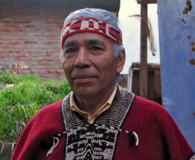 Lonco mapuche