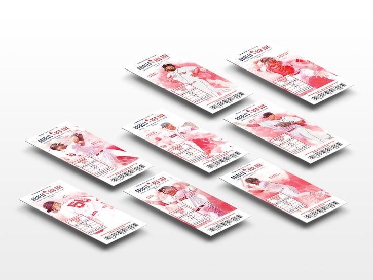 Boston Red Sox Premium Season Tickets on Behance