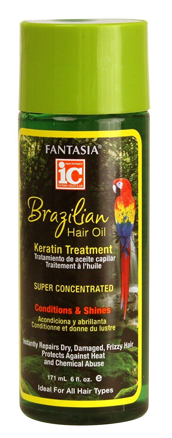 Fantasia IC Brazil Keratin Hair Oil 6 oz. (Pack of 2) >>> Find out more about the great product at the image link.