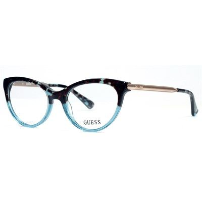 Óculos de Grau Guess Acetato Azul Havana - GU2462BL