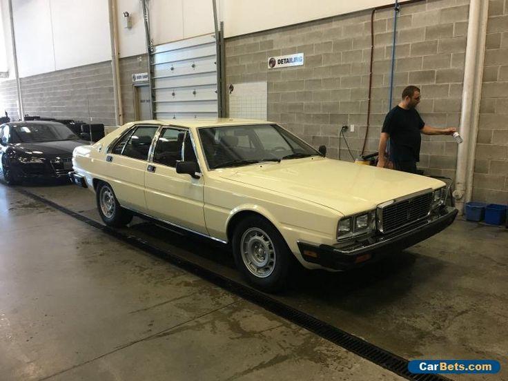 Maserati: Quattroporte Quattroporte III #maserati #quattroporte #forsale #canada