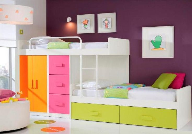 Children S Bunk Beds With Stairs Unusual Staggered Bunk