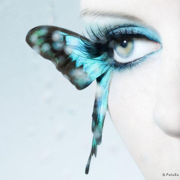 Alas de mariposa en tus pestañas