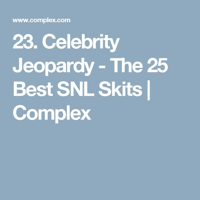 The Funniest Sean Connery Moments From SNL's Celebrity ...