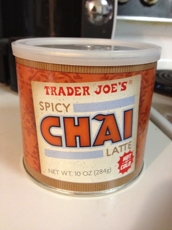 Trader Joe's Spicy Chai Latte- Hot or Iced... delish & cheap!