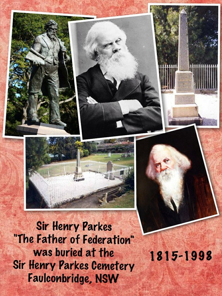 Sir Henry Parkes, the Father of Federation.