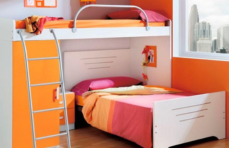 Si la habitaci n de tus hijos es peque a puedes - Aprovechar espacio habitacion pequena ...