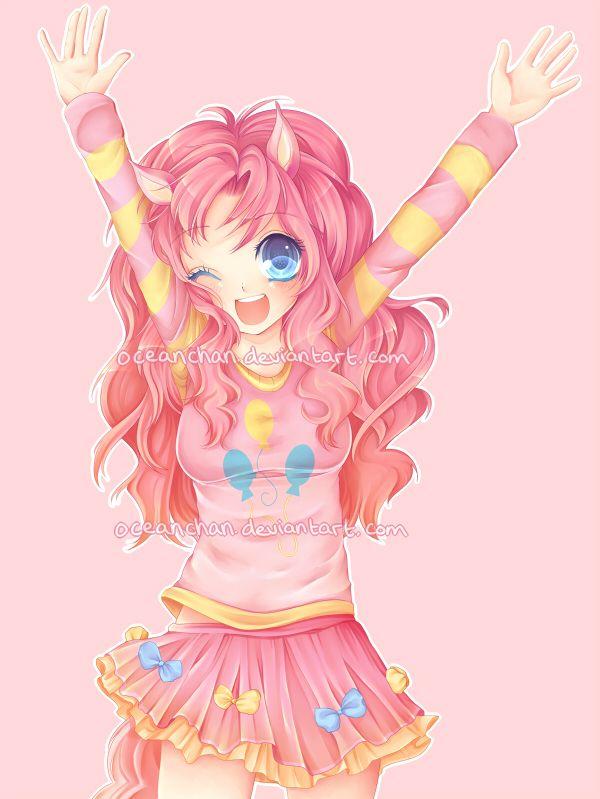 MLP:FiM - Pinkie Pie by oceanchan.deviantart.com on @deviantART