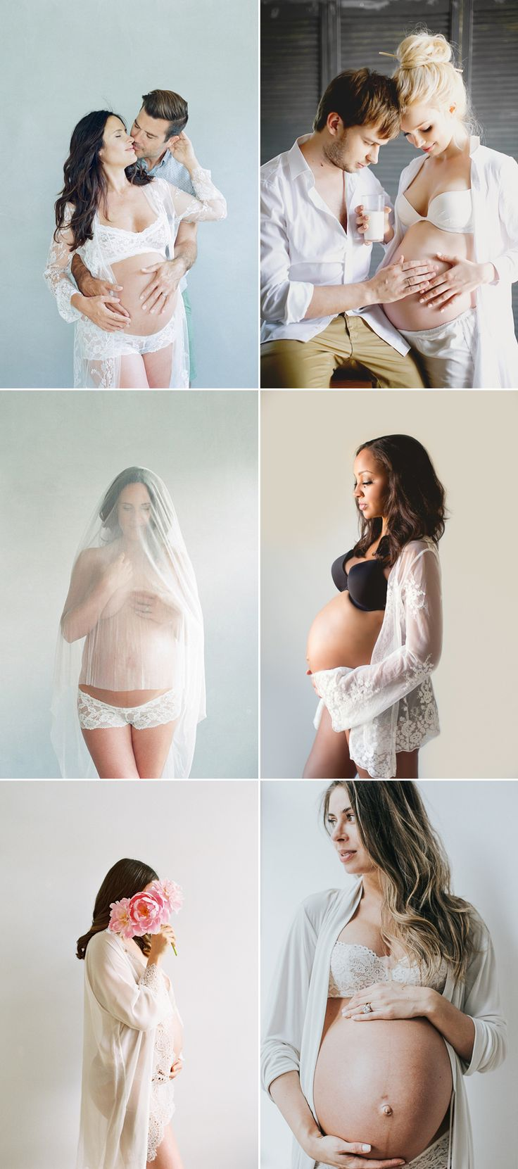 Oh Baby! 34 Beautiful Home Maternity Photos We Love! A Clean Wall