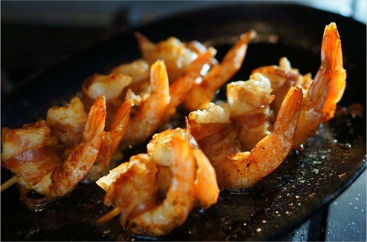 Cuisiner la plancha gambas la ventr che et pommes de for Que cuisiner a la plancha