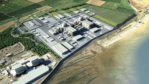 "UK - A new £16bn nuclear power station at Hinkley Point in Somerset is to go ahead after it received final approval from European Union regulators. ""Austria says the Commission's decision is supported by neither economic nor ecological sense. And other member states are concerned that it flies in the face of the EU's stated aim of promoting renewable energy sources, such as wind and solar."""