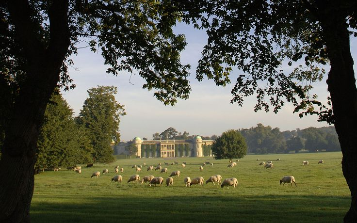 Goodwood House on the Goodwood Estate