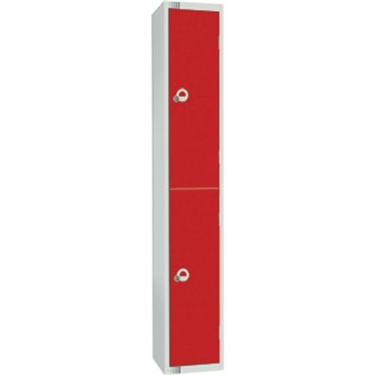 Two Door Locker with Sloping Top