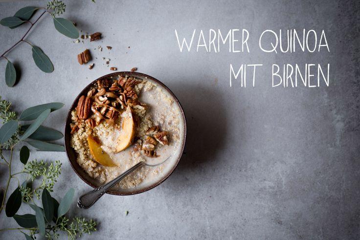 Von Quinoa kann ich einfach nicht genug bekommen. Ich esse ihn gerne schon zum Frühstück, ob gepufft auf einer Smoothie Bowl oder warm in Mandelmilch gekocht. Mit etwas Obstund Gewürzen schme…