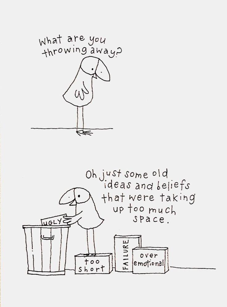 quita la marca: ilustraciones de Kate Knapp}