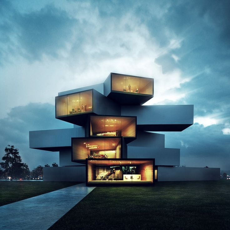 Sergio mereces cg for Modern house hd