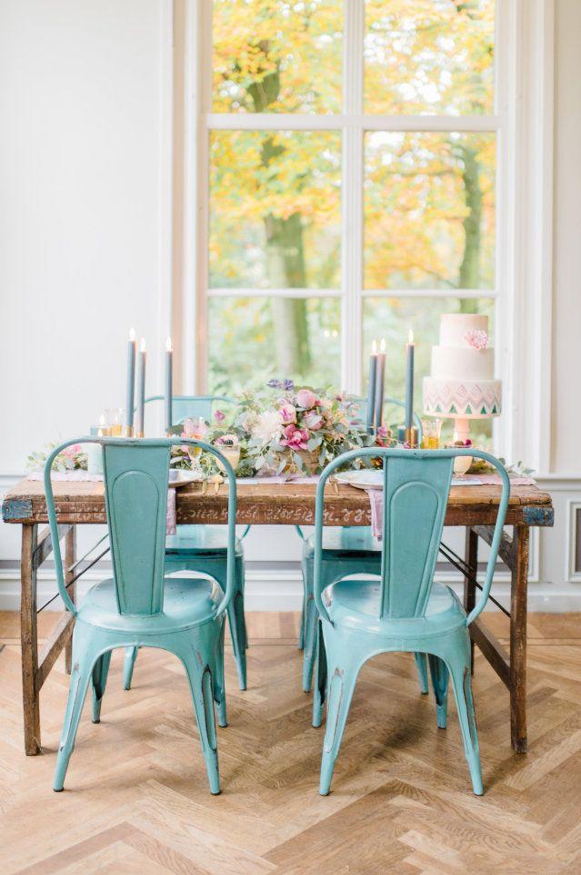 12 romantische tafels voor tijdens je bruiloft