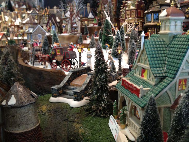 195 best christmas village images on Pinterest | Christmas ...