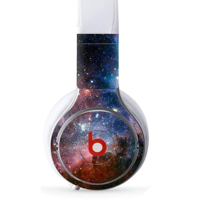 Night Sky decal for Monster Beats Pro wireless headphones