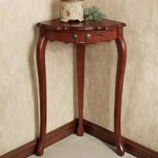 Small Corner Accent Table With Drawer Of Safavieh Gomez Black Corner Accent  Table Design   Antique Corner Table, Unfinished Corner Accent Table.