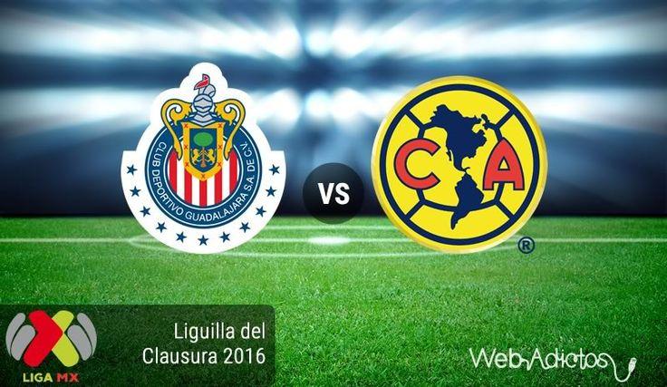 Chivas vs América, Liguilla del Clausura 2016 ¡En vivo por internet! - https://webadictos.com/2016/05/12/chivas-vs-america-liguilla-clausura-2016/?utm_source=PN&utm_medium=Pinterest&utm_campaign=PN%2Bposts