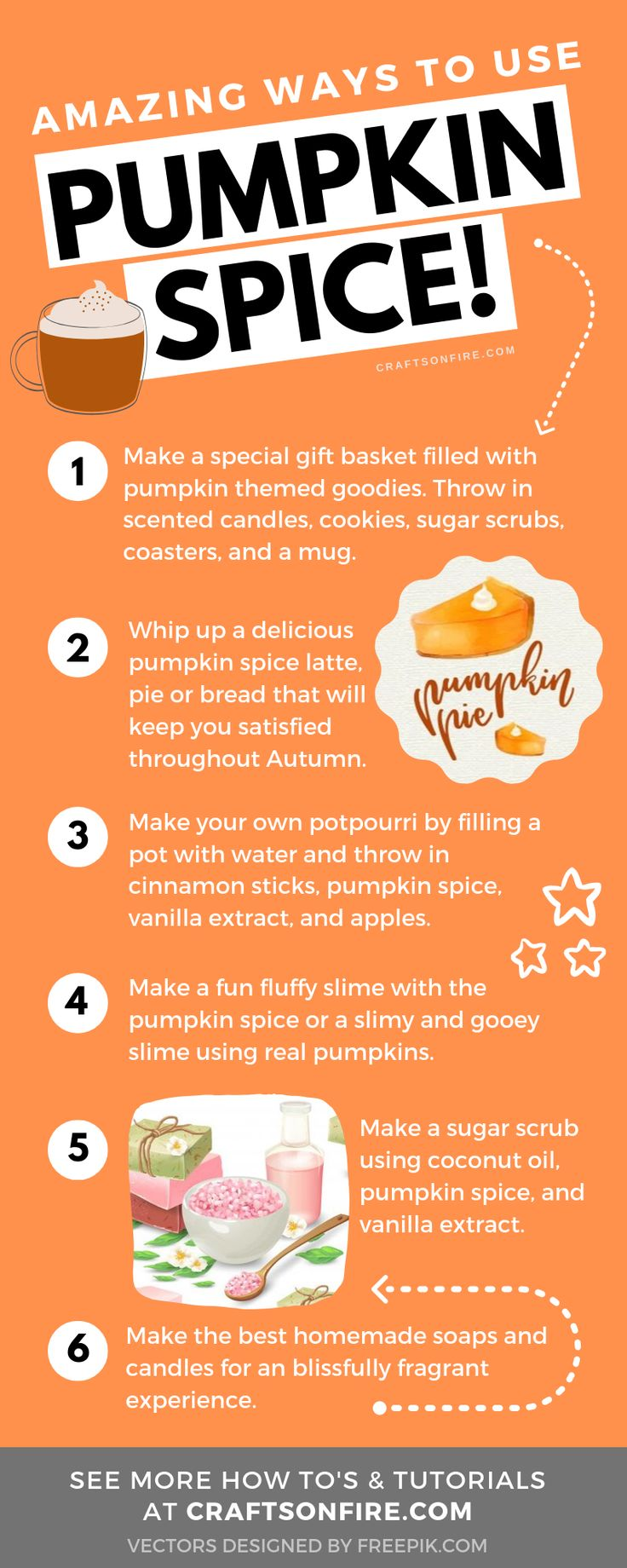 Amazing Pumpkin Spice Crafts For The Best Autumn Ever