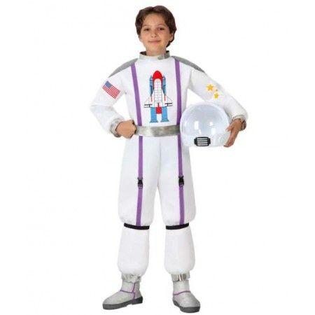 Disfraz de Astronauta - Nasa -  Incluye: Traje y cinturon  Composición: Foan y lame http://www.disfracessimon.com/disfraces-hombre-mujer-adultos/2388-disfraz-astronauta-nasa-p-2388.html