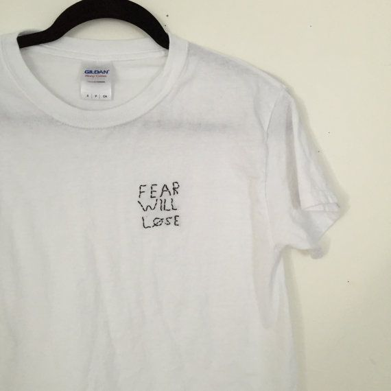 twenty one pilots fear will lose stitch shirt by kindakelsey
