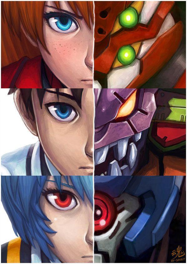 Neon Genesis Evangelion by Ry-Spirit.deviantart.com on @deviantART