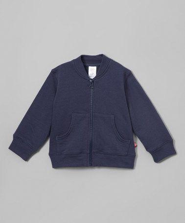 Loving this Navy Zip-Up Jacket - Toddler on #zulily! #zulilyfinds