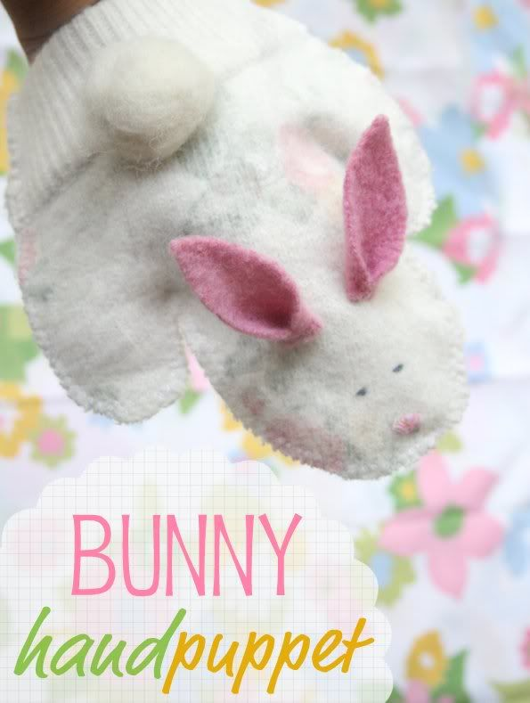 257 best holidays easter bunny only images on pinterest easter how to bunny hand puppet negle Choice Image