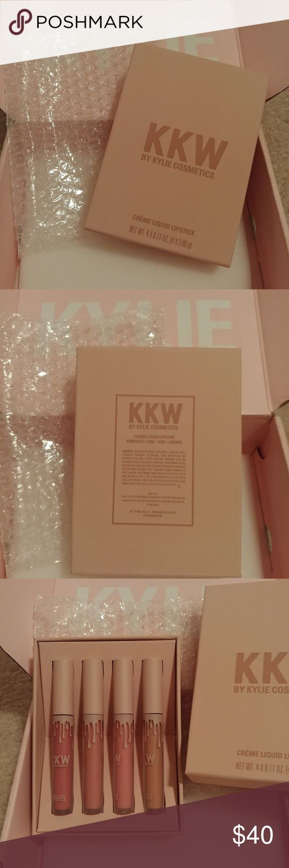 👄NWT Kylie Cosmetic KKW Lippenset NWT Kylie Cosmetic KKW Lippenset 100% …   – My Posh Picks