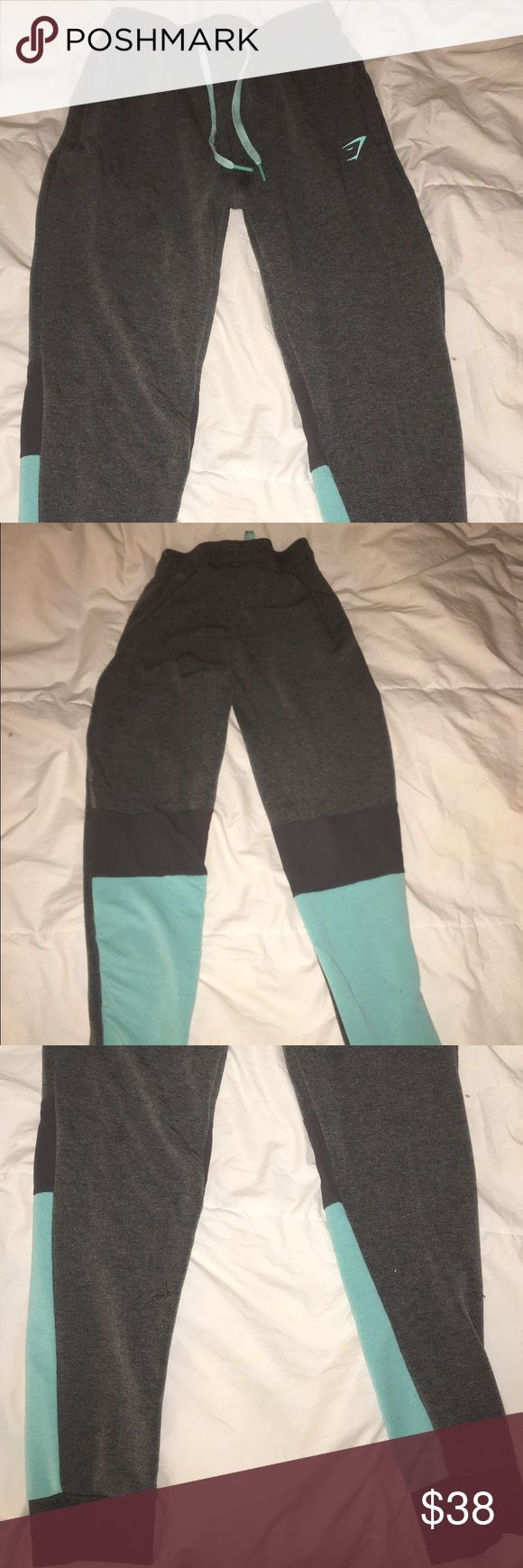 *new edition Gymshark joggers* Newest edition joggers from Gymshark. Size small, worn twice. Love them! Just a little big for me. I'm looking to trade for a size xs or $$$. Firm price, as shipping from Gymshark is pricy. lululemon athletica Pants