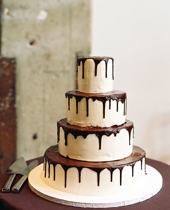 Chocolate Wedding Cakes  #weddingcake #wedding
