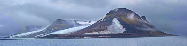 Expedition National Geographic in july-august 2013. Franz Josef Land archipelago. Bliss island.