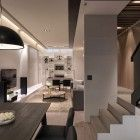 A Multilevel Contemporary Apartment by WCH Studio (11)