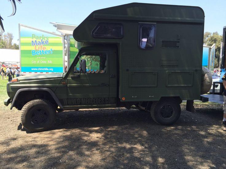 mercedes g wagen camper camper 4x4 pinterest adventure campers. Black Bedroom Furniture Sets. Home Design Ideas