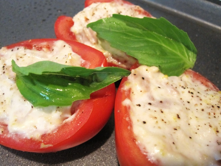 Tuna Stuffed Tomatoes, A Quick and Easy Italian Recipe