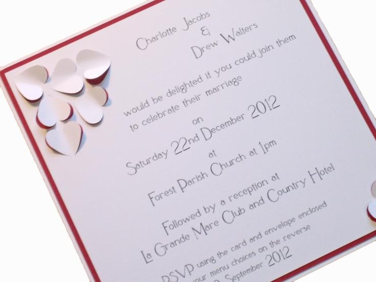 Lovely Wedding Invitation  http://www.indigoflash.co.uk/store/wedding-invitations/square-invites-/flat-invite-beating-heart-theme/c-24/c-70/p-270