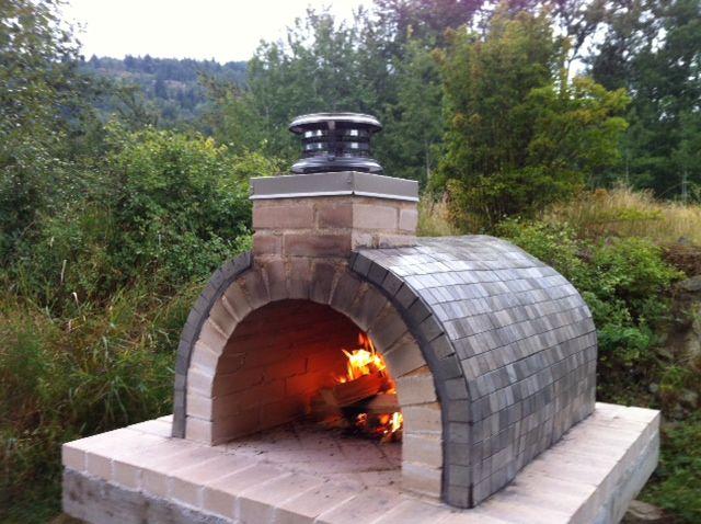 Reimer Wood Fired Diy Brick Pizza Oven In Bc Canada Brickwood Ovens Brick Pizza Oven Pizza Oven Bricks Pizza