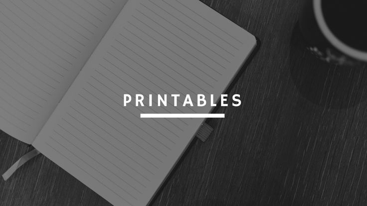 Printables, instant downloads, freebies, organise, goal setting and more!