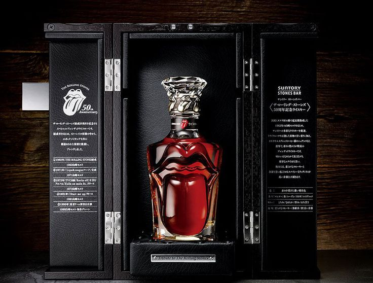 the rolling stones | The Rolling Stones x Suntory Whisky | Materialiste, Le Magazine ...