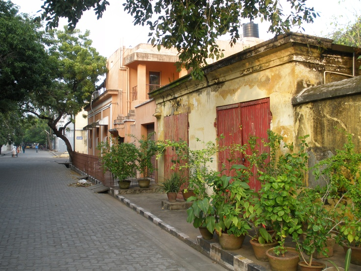 pondicherry....french india